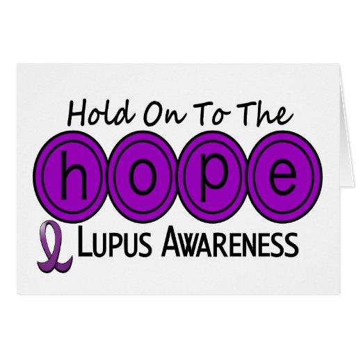Lupus HOPE 6 Greeting Card