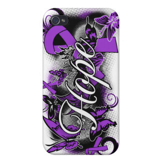 Lupus Hope Garden Ribbon iPhone 4 Covers