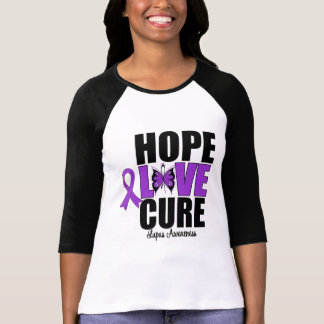 Lupus Hope Love Cure T-shirt