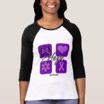 Lupus Hope Love Inspire Awareness Tee Shirt