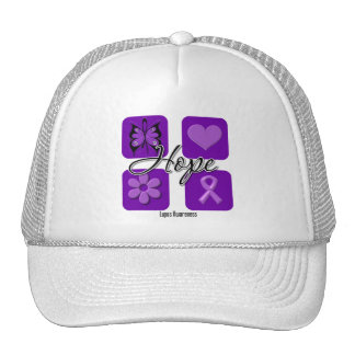 Lupus Hope Love Inspire Awareness Trucker Hat