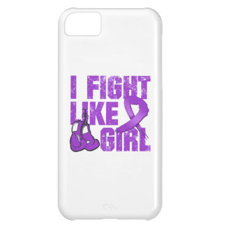 Lupus I Fight Like A Girl (Grunge) Case For iPhone 5C