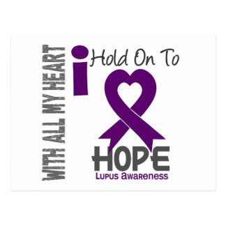 Lupus I Hold On To Hope Postcard