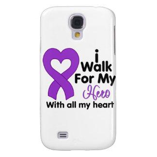 Lupus I Walk For My Hero Samsung Galaxy S4 Cover