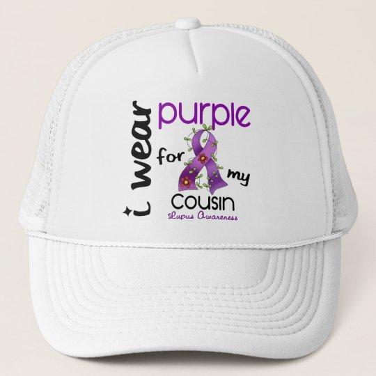 Lupus I WEAR PURPLE FOR MY COUSIN 43 Trucker Hat