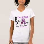 Lupus I WEAR PURPLE FOR MY COUSIN 43 Tshirt