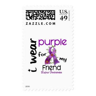 Lupus I WEAR PURPLE FOR MY FRIEND 43 Postage
