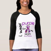 Lupus I WEAR PURPLE FOR MY MOM 43 T-Shirt