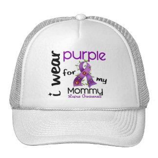 Lupus I WEAR PURPLE FOR MY MOMMY 43 Trucker Hat