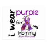 Lupus I WEAR PURPLE FOR MY MOMMY 43 Postcard