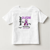 Lupus I WEAR PURPLE FOR MY MOMMY 43 Toddler T-shirt