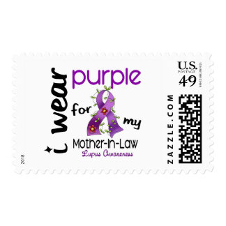 Lupus I WEAR PURPLE FOR MY MOTHER-IN-LAW 43 Stamps