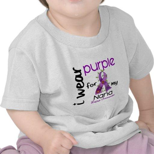Lupus I WEAR PURPLE FOR MY NANA 43 Shirts