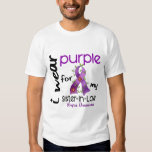 Lupus I WEAR PURPLE FOR MY SISTER-IN-LAW 43 Tee Shirt