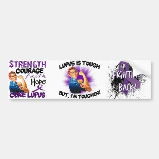 Lupus is Tough... But i'm Tougher Car Bumper Sticker
