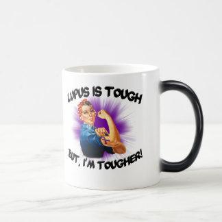 Lupus is Tough... But i'm Tougher Magic Mug