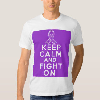 Lupus Keep Calm and Fight On Tee Shirt