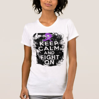 Lupus Keep Calm and Fight On Shirt