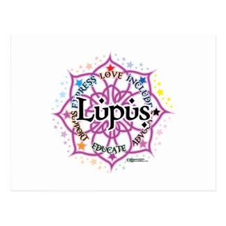 Lupus Lotus Postcard
