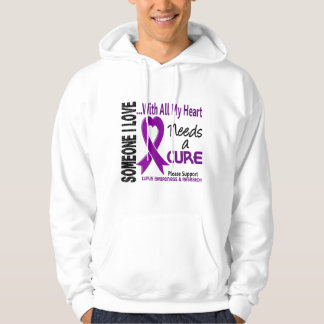 Lupus Needs A Cure 3 Hoodie