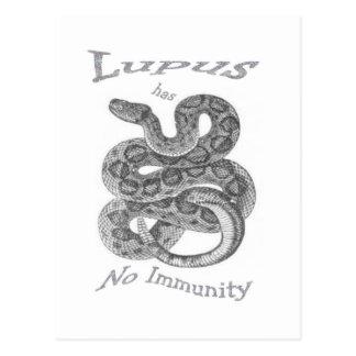 lupus postcard