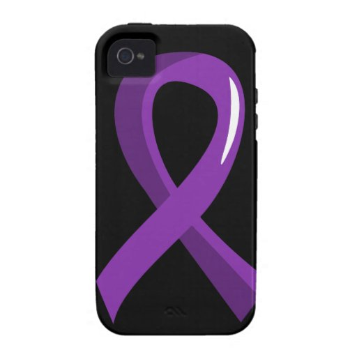 Lupus Purple Ribbon 3 Case For The iPhone 4