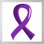 Lupus Purple Ribbon 3 Poster