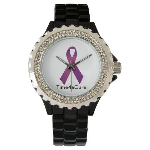 Lupus púrpura de la fibrosis quística del reloj de