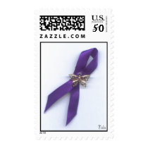 Lupus Ribbon/gold butterfly Postage