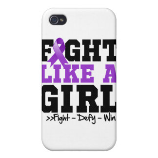 Lupus Sporty Fight Like a Girl Covers For iPhone 4