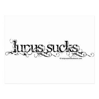 Lupus Sucks Postcard