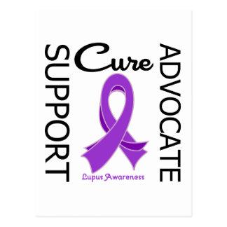 Lupus Support Advocate Cure Postcard