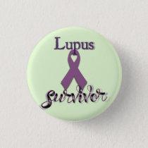 Lupus Survivor Button