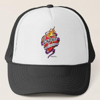 Lupus Tattoo Heart Trucker Hat