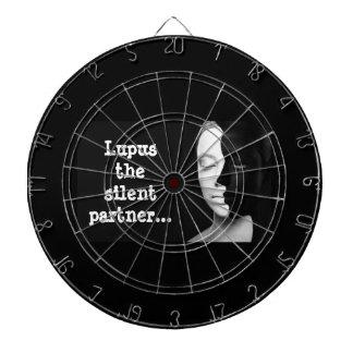 Lupus the silent partner... dartboard