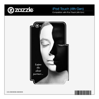 Lupus the silent partner... iPod touch 4G skin