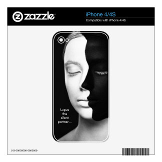 Lupus the silent partner... skin for iPhone 4