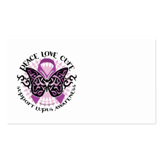 Lupus Tribal Butterfly Business Card