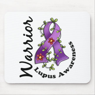 Lupus Warrior 15 Mouse Pad