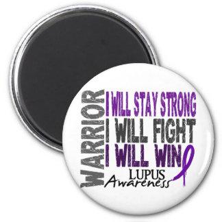 Lupus Warrior 2 Inch Round Magnet