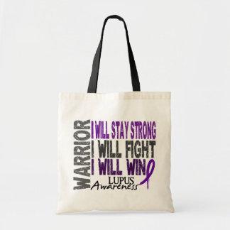 Lupus Warrior Budget Tote Bag