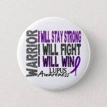 Lupus Warrior Button