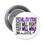 Lupus Warrior Button