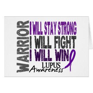 Lupus Warrior Card