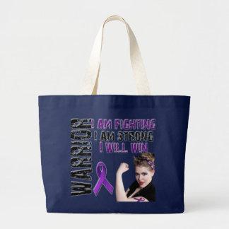 Lupus Warrior Large Tote Bag