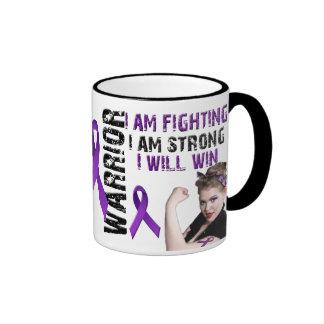 Lupus Warrior Ringer Mug