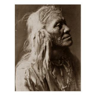 Luqaiot Kittitas Native American Indian Man Postcards