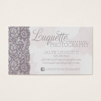 Luquette Photography Business Card