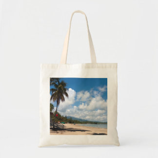 Luquillo Beach Puerto Rico Budget Tote Bag