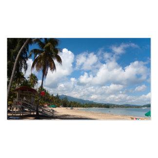 Luquillo Beach Puerto Rico Business Card